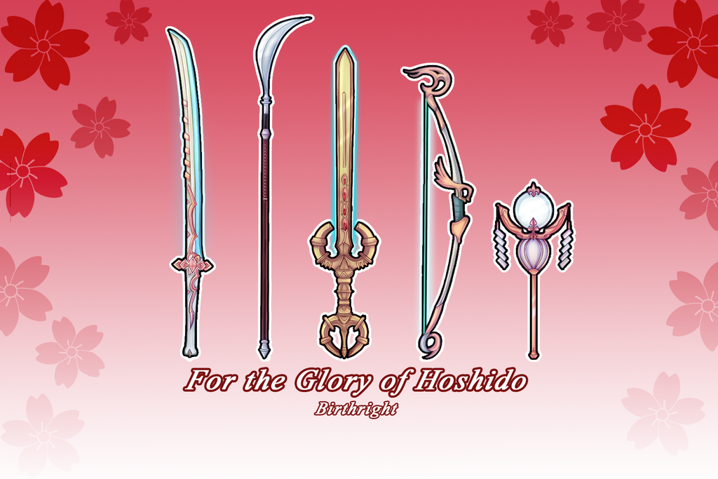 For the Glory of Hoshido by adoke-nai