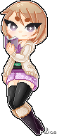 Pixel - Yuhi [Request] by LicoriceRoll