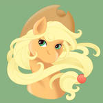 Applejack Button Design