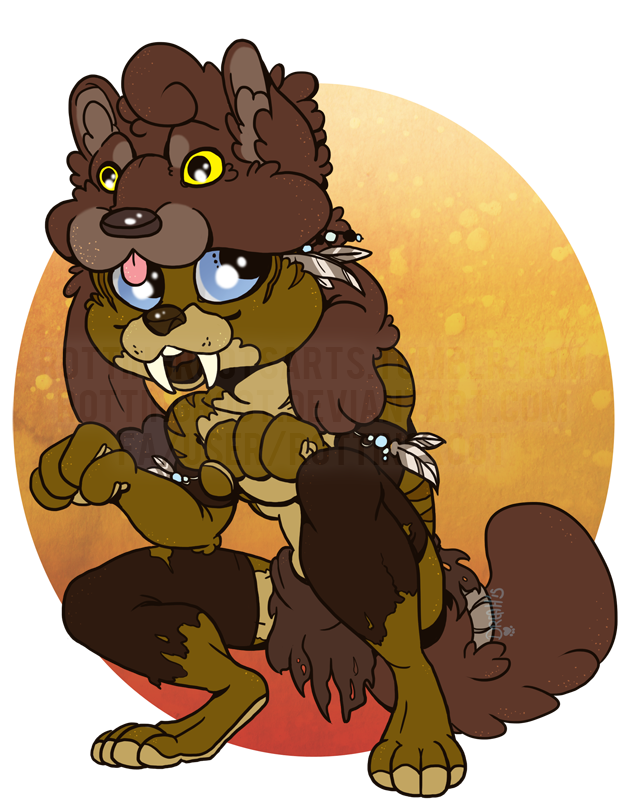 Halloween Chibi: Nhaaitk by RottingRoot