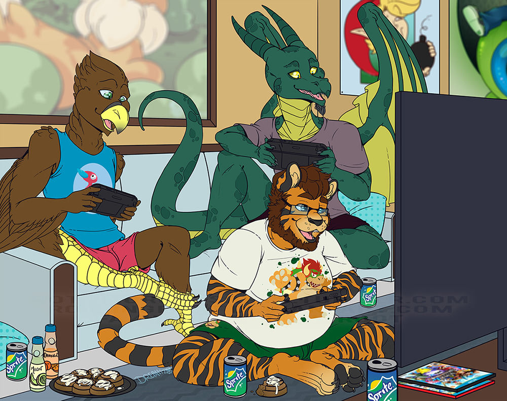 Game Night by RottingRoot