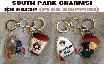 South Park Charms: $8 Each by RottingRoot
