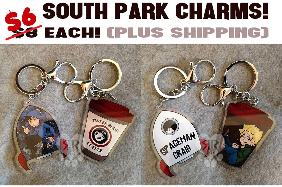 South Park Charms: PRICE DROP! $6 each