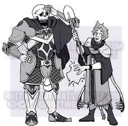 Magic and Skeletons: COM