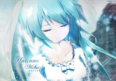 Hatsune Miku by AdellTadrio
