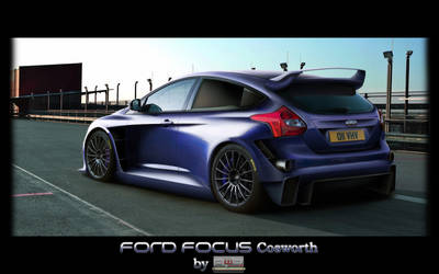 Ford Focus Cosworth by AwBStyle