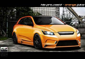 Kia Pro_Cee'd - Orange Juice by AwBStyle