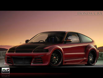 Honda CRX by AwBStyle