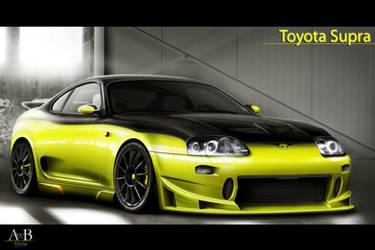 Toyota Supra by AwBStyle
