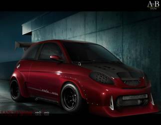 Lancia Ypsilon Pronto Corsa by AwBStyle