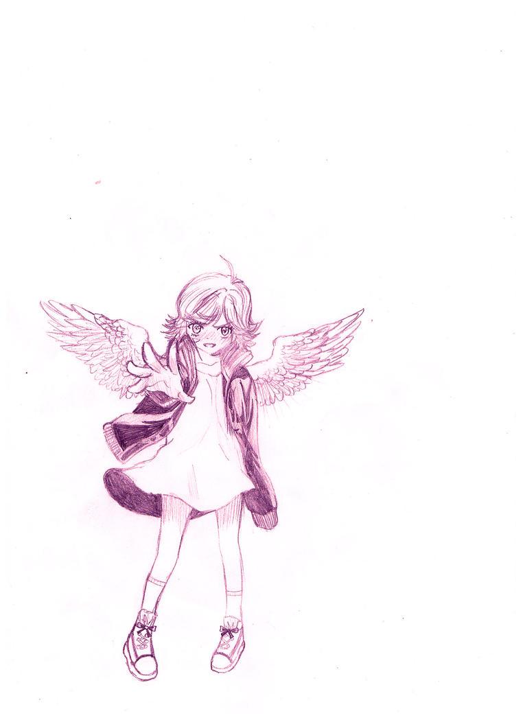 Angel- Maximum Ride by SpikyShadow123 on DeviantArt