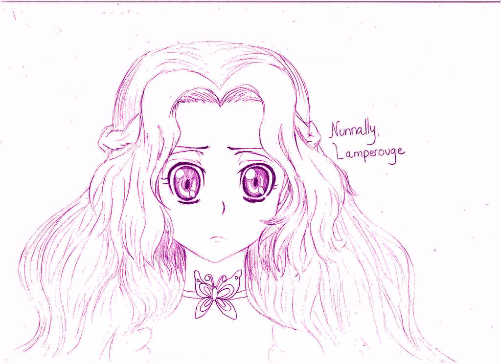 Nunnally Lamperouge - Code Geass by SpikyShadow123