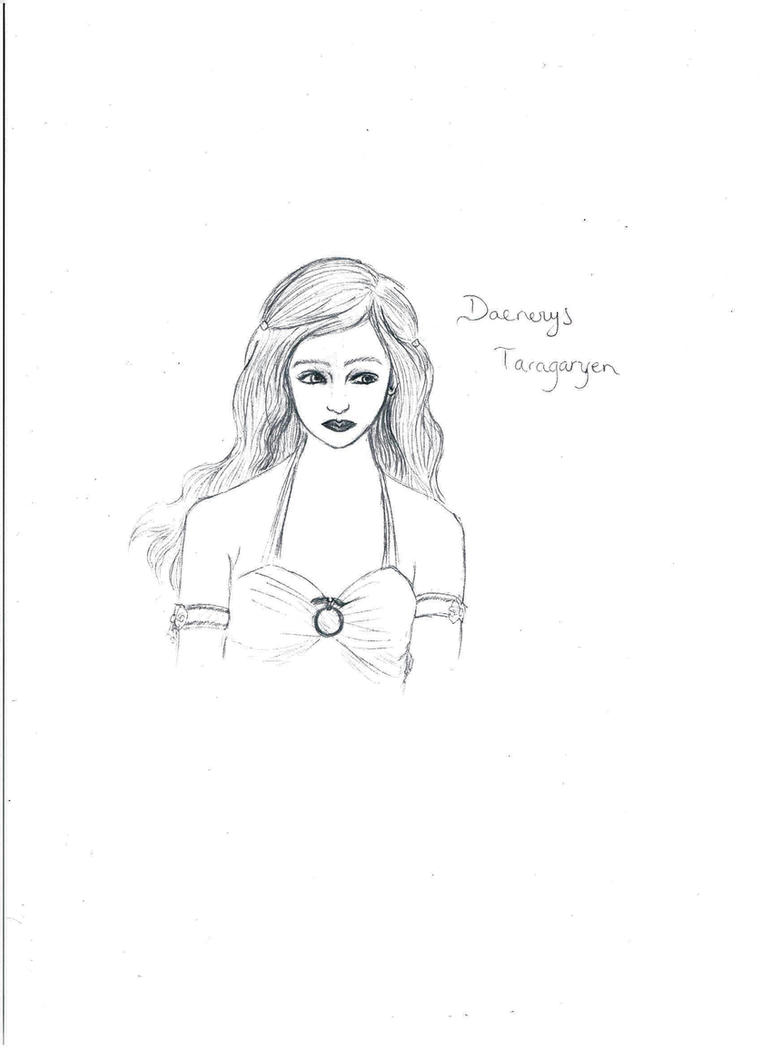 Daenerys Targaryen - Game of Thrones by SpikyShadow123