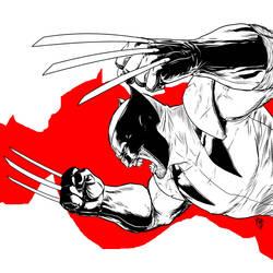 Wolverine fanart by Phleitodactilo
