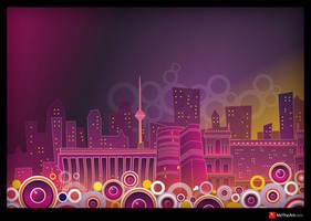 fantastic Baku by elnurbabayev