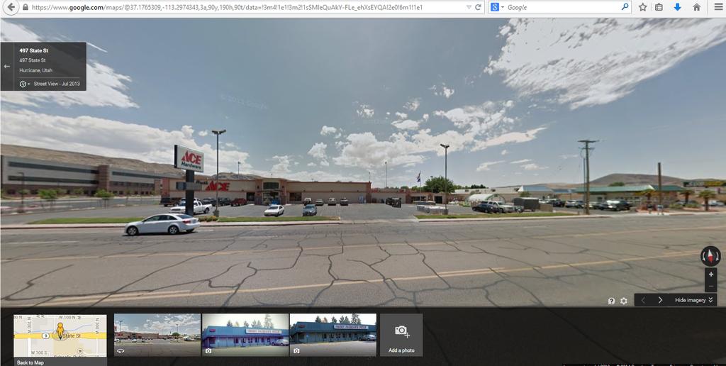 Freddy fazbears pizza google maps location elhouz
