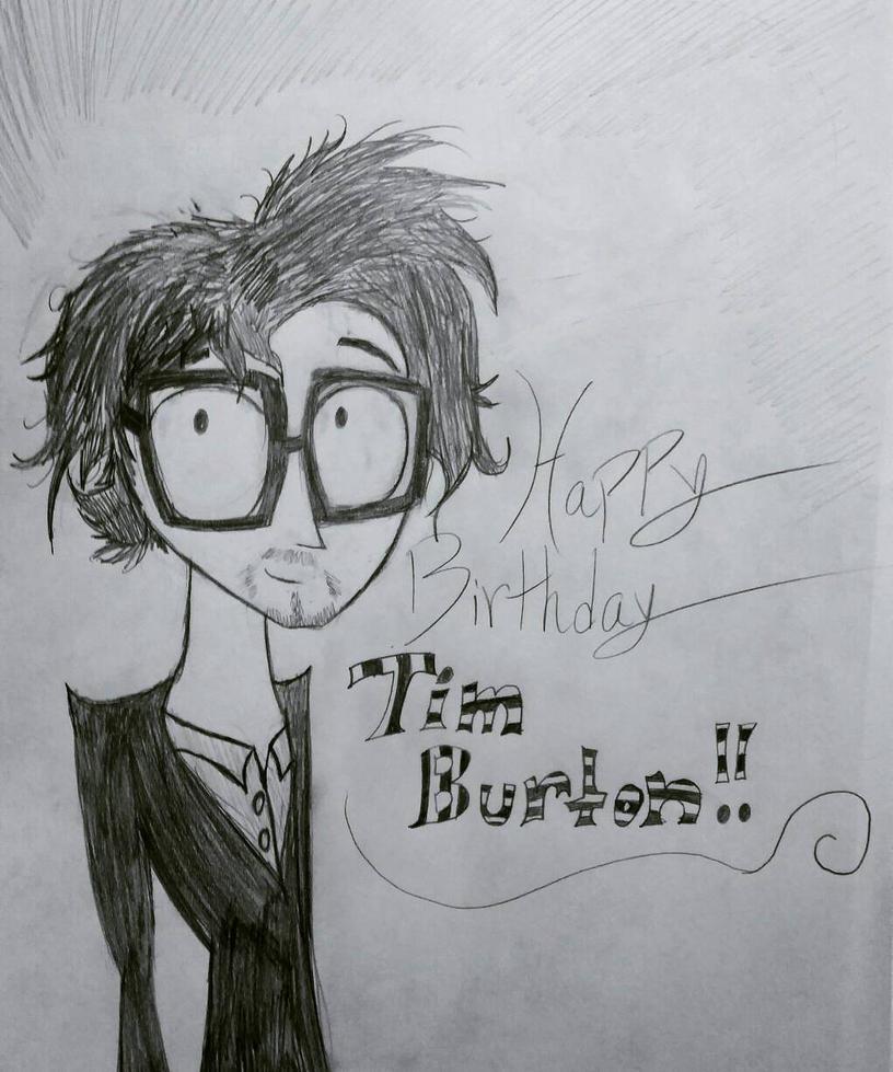 Happy Birthday Tim Burton!  by cometgazer379