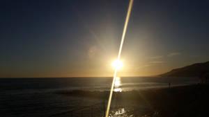 Topanga Sunset by cometgazer379