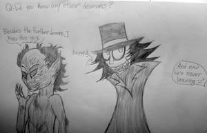Ask the Demon Squad #2 by cometgazer379