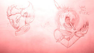 Pennywise Sketches by cometgazer379