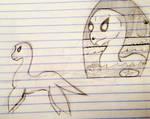 Nessie Sketches