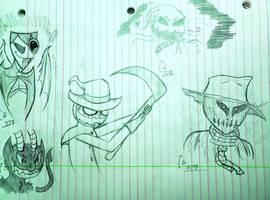 Spooky Boys by cometgazer379