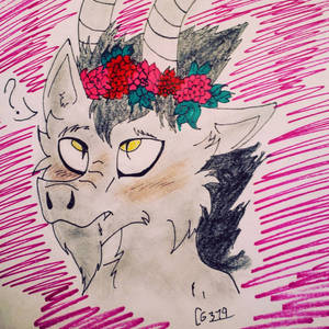 Petals and Horns by cometgazer379