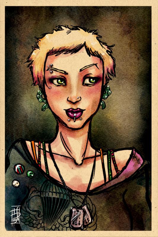 Rehash Series: Becky Tyler by psychosako