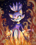 Blaze - The Cold Fire