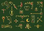 Summoning of Spirits - Icons by kureejiilea