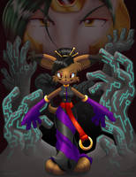 Iron Dominion Queen Takes Pawn by kureejiilea