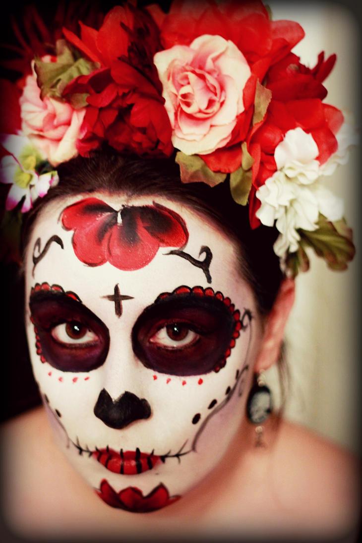 Mexican Face Paint Draw Deviantart