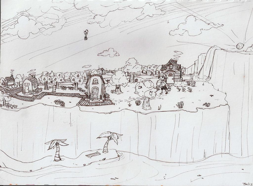 The village by JqotD