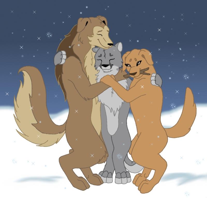 Winter Hug by pariahpoet