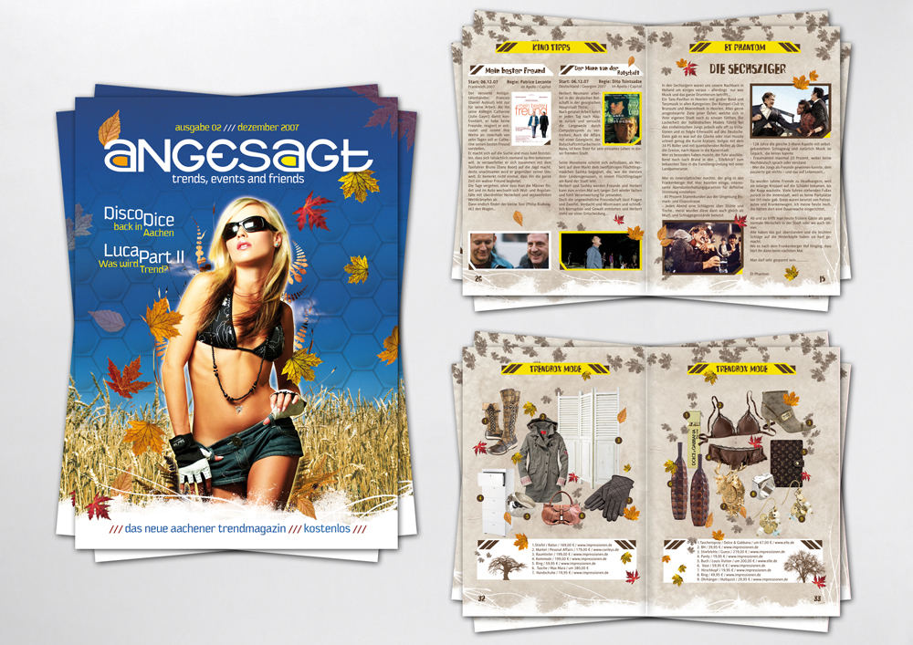 magazine - angesagt 02 by homeaffairs