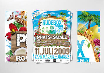 rudebox junglemania poster by homeaffairs