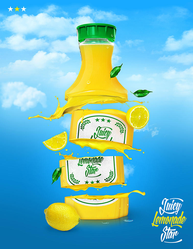 Advertising Juicy Fruit Star by homeaffairs