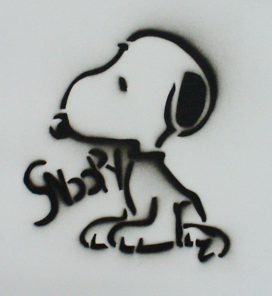 Snoopy Stencil by Gordorca