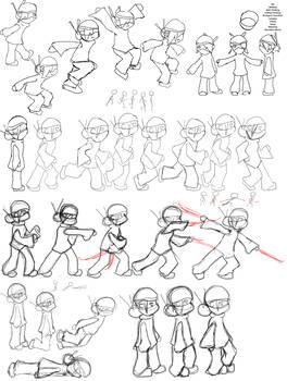 Ninja Animations