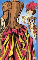 Day 29 - Pidgeotto Gijinka by bookwormy606