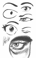 Day 2 - Eyes by bookwormy606
