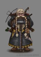 DSA Dwarf by marcbornhoeft