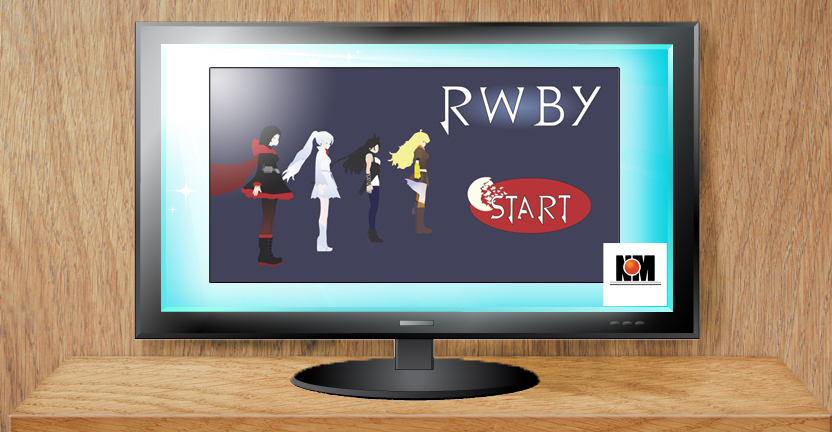 RWBY Game Project Start Screen by xXevilbugXx