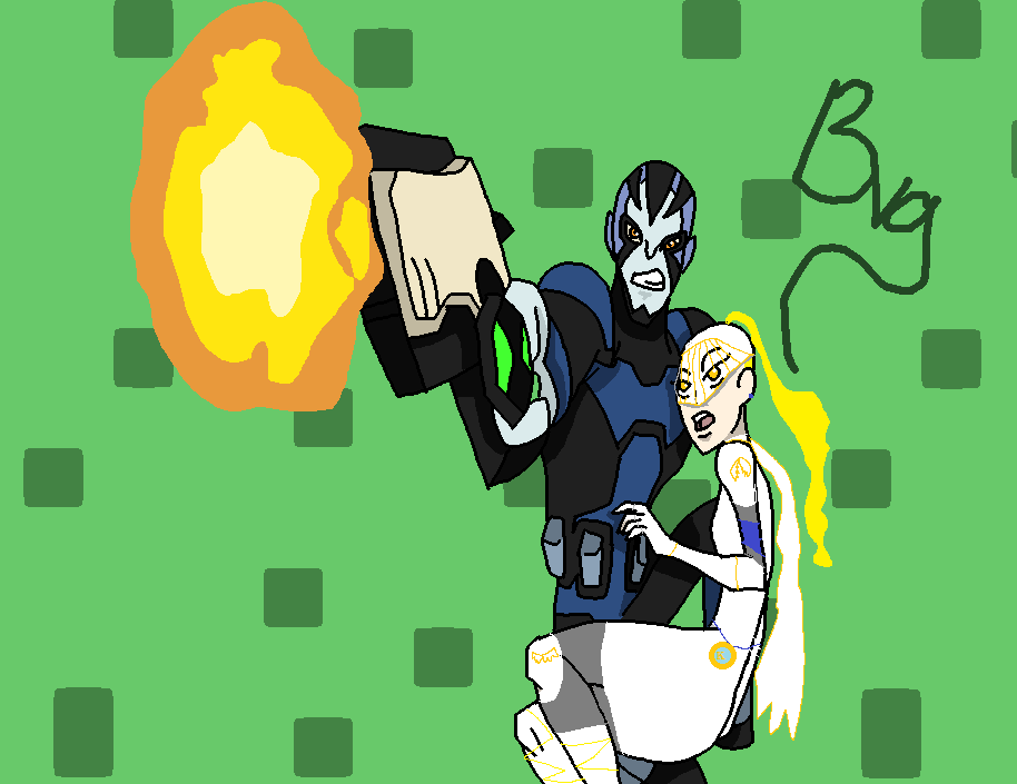 rook and holy knight ( Nana) by Garuru09