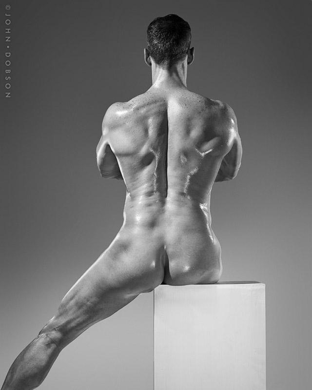 Half Assed Back Pose by Kedori