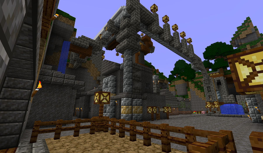 Minecraft Horse Stable View By Bleeps88 On Deviantart Horses are one of the best and fastest modes of transportation in minecraft. minecraft horse stable view by