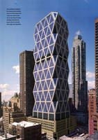 Hearst Tower, NY Montage by lessthanfred