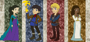 boys and girls of Camelot