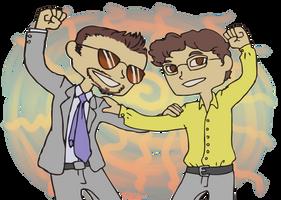 Science Bros by LA-P