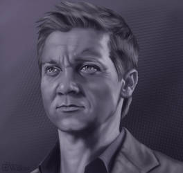 April 2020 Jeremy Renner - Portrait